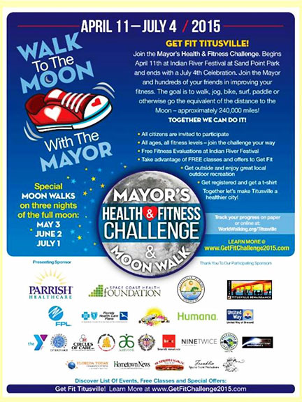 Mayor's Health & Fitness flyer