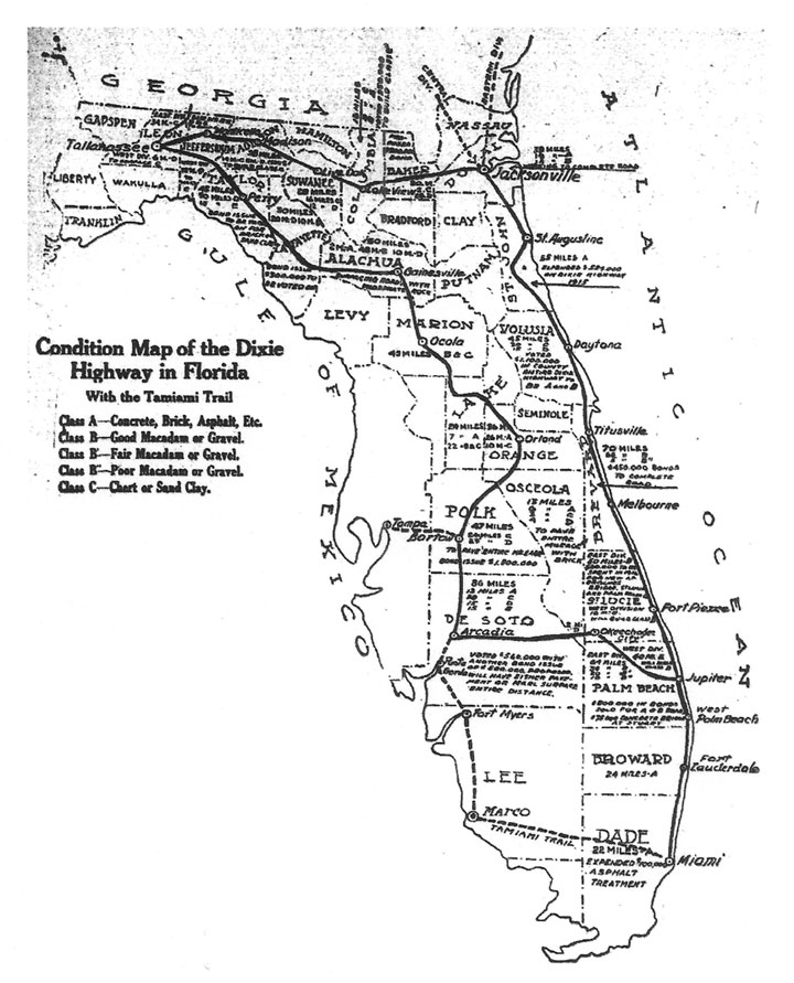 Image Result For Florida Highway Map
