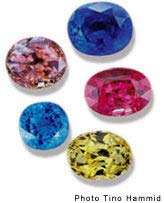 Saphires &amp; other Colored stones at the Diamond Connection
