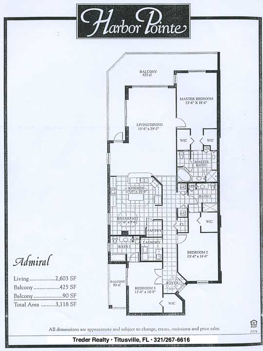 Harbor Pointe Condominium Floor Plans