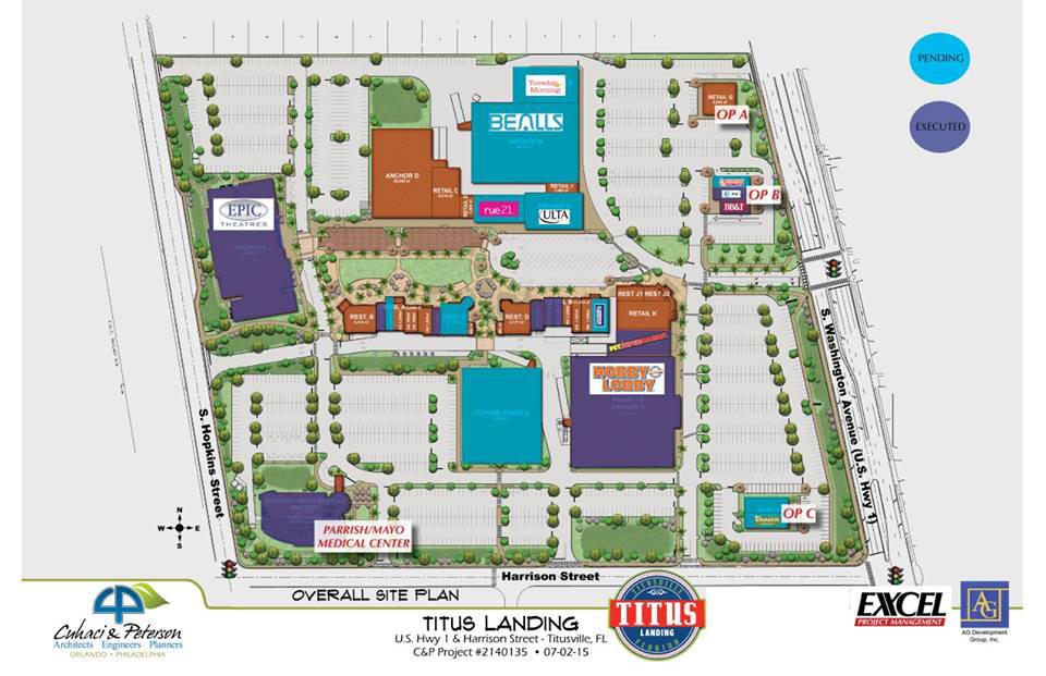 Titus Landing replaces Miracle City Mall in Titusville Florida