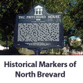 The historical markers in North Brevard Florida