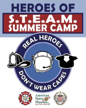 S.T.E.A.M. CAMP: The heroes behind space exploration, firefighting and law enforcement.