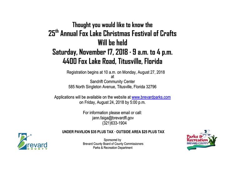 Fox Lake Christmas Festival Of Crafts