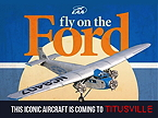 Fly on an historic 1929 Ford Tri-Motor passenter plane.
